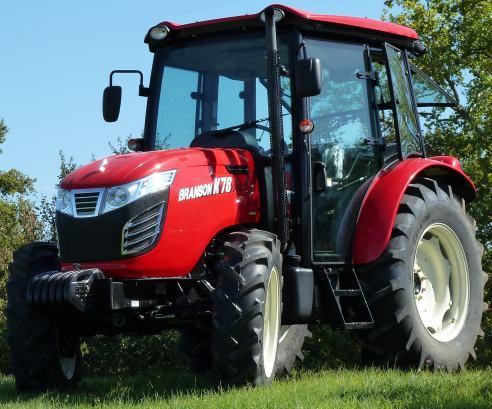 tracteur compact branson s rie k avec cabine